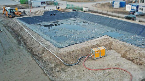 Budowa i uszczelnienie zbiornika retencyjnego