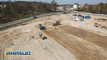 Nasypy z piasków zagęszczonych, stabilizacja terenu – Gubin