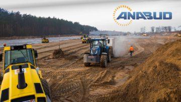 Nasypy z piasków zagęszczonych, stabilizacja terenu – Gubin II