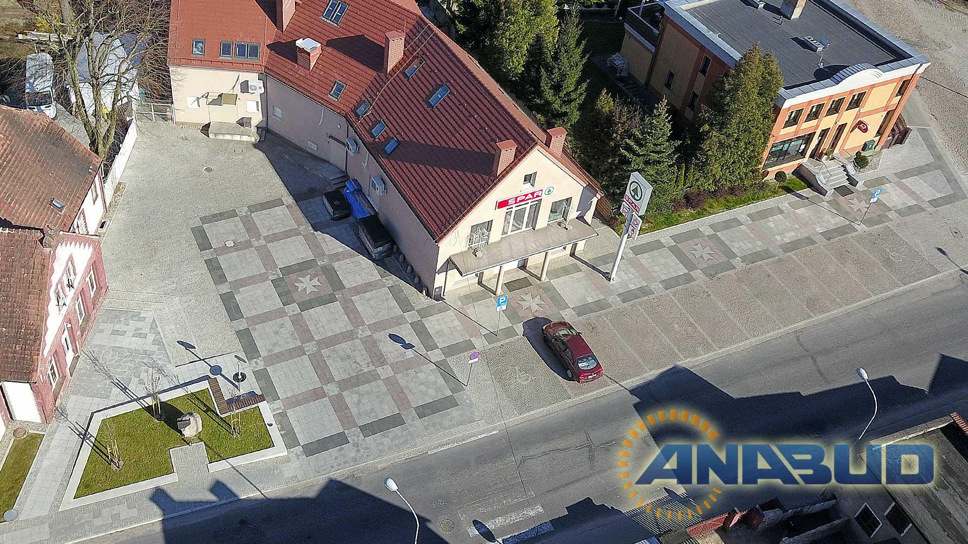 Budowa parkingu w Łagowie
