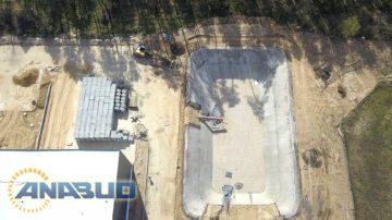 Budowa zbiornika retencyjnego - Słubice