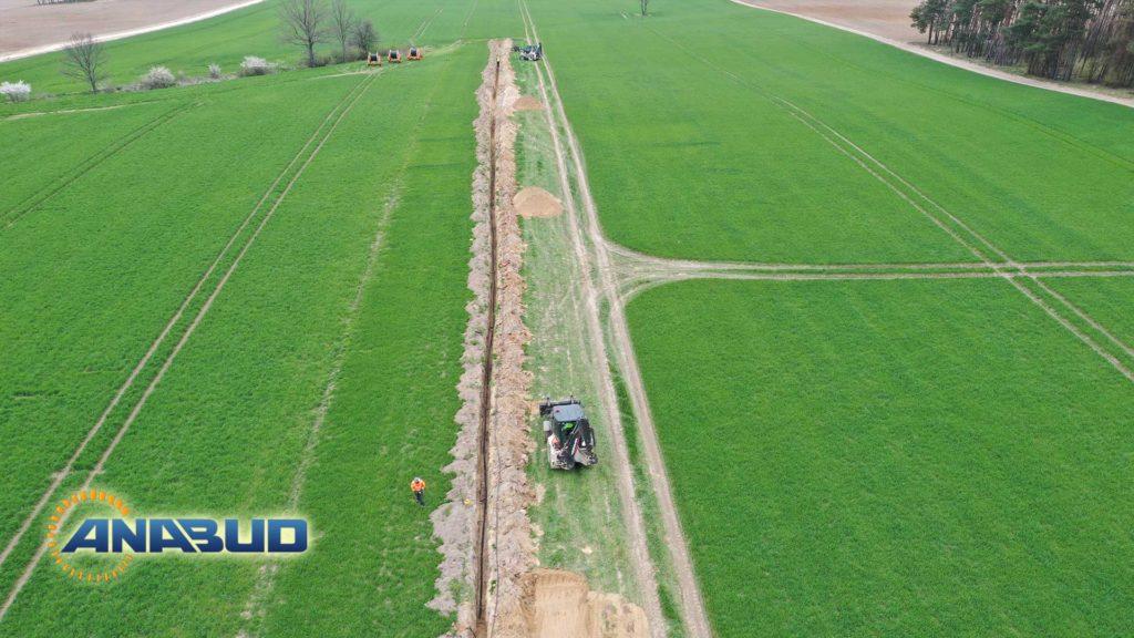 Budowa Dróg Dojazdowych i Prace Elektryczne przy budowie Farm Wiatrowych
